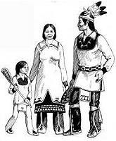 Iroquois family Tuscarora dancer