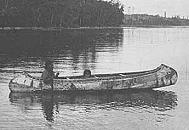 Mohawk Indians Canoes