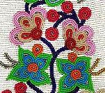 Ojibwe Floral Beadwork Patterns